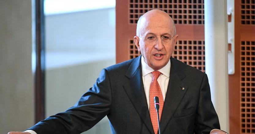 Il presidente dell'Abi, Antonio Patuelli