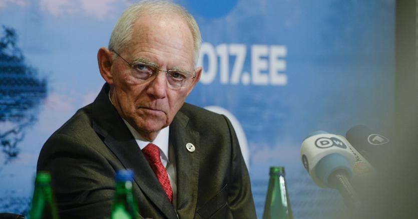 L'ex ministro delle Finanze tedesco,  Wolfgang Schäuble (Afp)