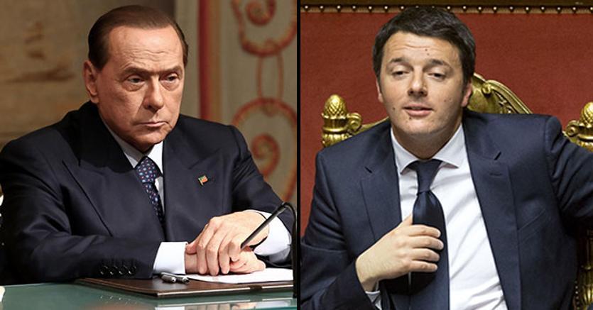Renzi: abbiamo il doppio dei consensi di Forza Italia