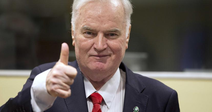 Mladic condannato all'ergastolo dal Tpi