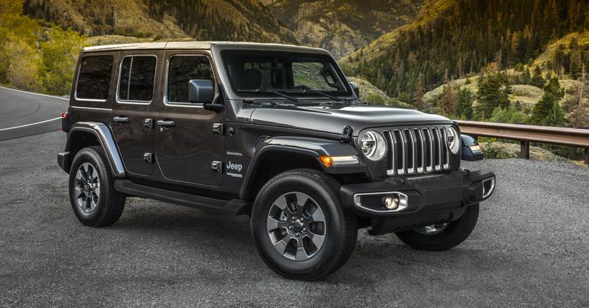 Fca, la nuova Jeep Wrangler al Salone di Los Angeles