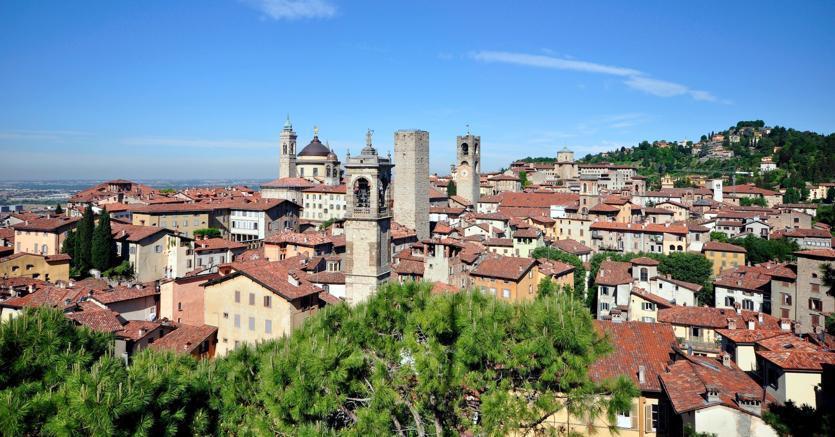 Veduta di Bergamo (Marka)