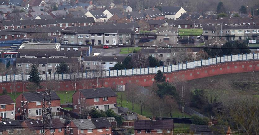 Il Peace Wall a Belfast