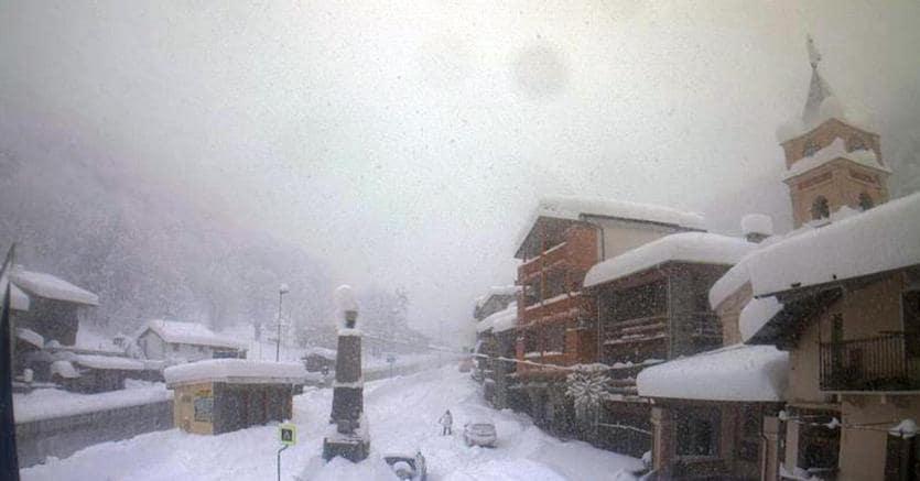 Previsioni meteo: neve sul ponte dell'Immacolata