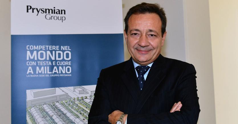 Valerio Battista, amministratore delegato di Prysmian (Imagoeconomica)