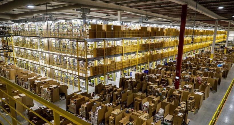 Amazon: ispettori nella sede di Piacenza a Castel San Giovanni