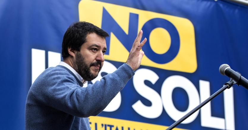 Matteo Salvini. (Angelo Carconi/Ansa)