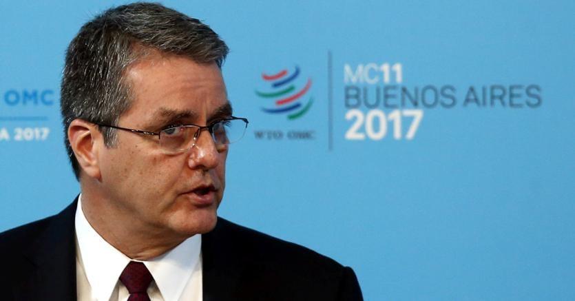 Il direttore generale della Wto, Roberto Azevedo (Reuters)