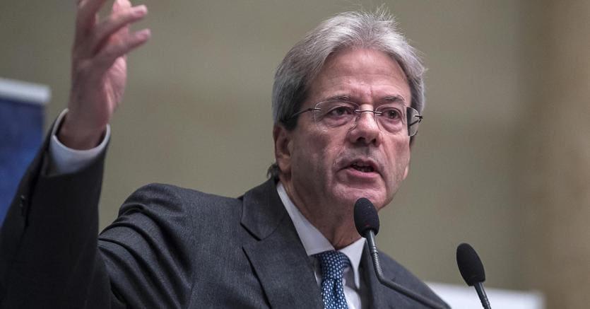 Il presidente del Consiglio, Paolo Gentiloni (Ansa)
