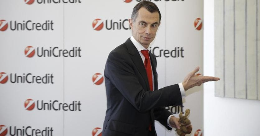 UniCredit, AD Mustier: aumenteremo target dividend payout fino a 50%