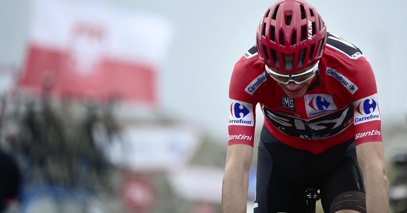 Choc nel ciclismo: Chris Froome positivo alla Vuelta 2017