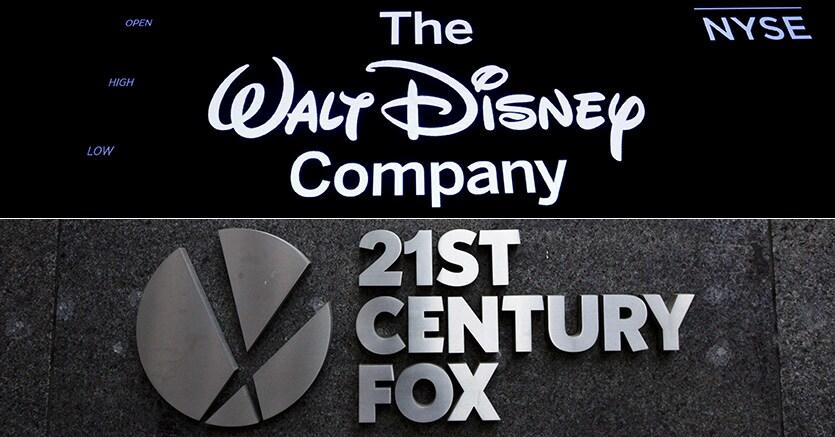 Disney vicino allo storico acquisto di 21st Century Fox