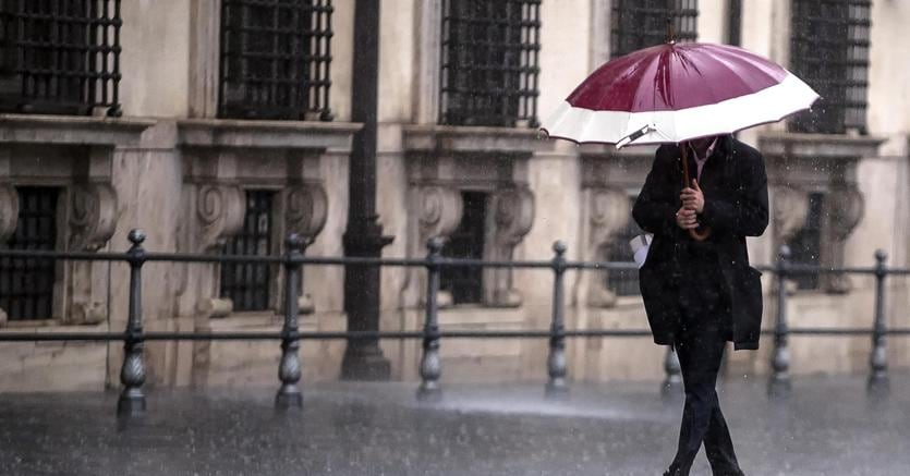 Maltempo: arrivano pioggia e neve