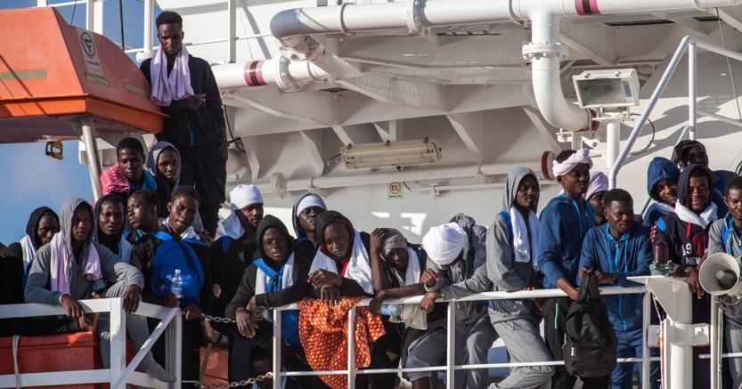 Sono diminuiti del 34,24% gli sbarchi di migranti dal 1 gennaio di quest'anno al 31 dicembre