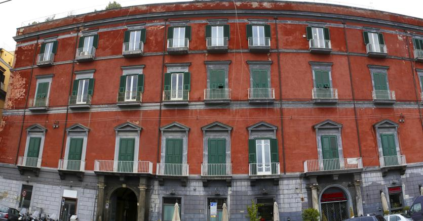 Palazzo Ischitella, quartier generale diTecno