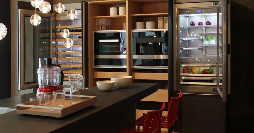 Hi tech sostenibili e telecomandate ecco le cucine da sogno made in italy che conquistano i - Arte sole cucine ...