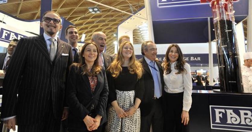 La famiglia Fabbri ai festeggiamenti dei 110 anni dell'azienda