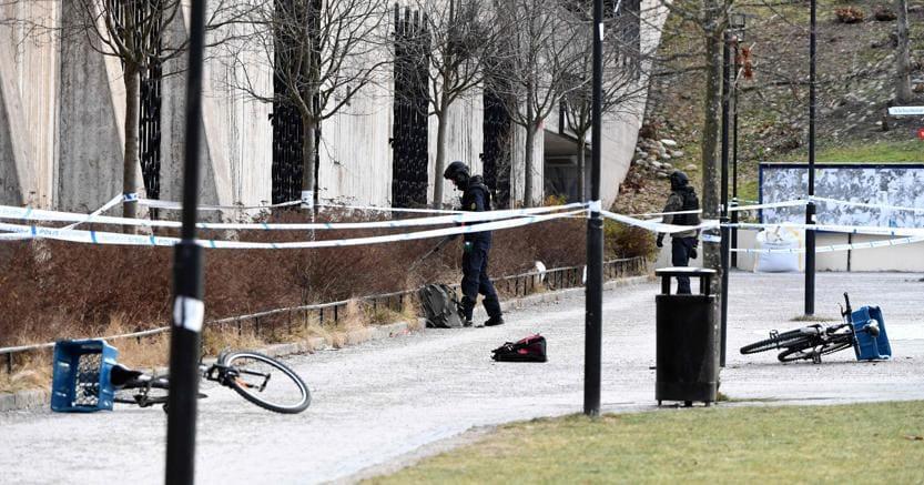 Esplosione a Stoccolma: polizia