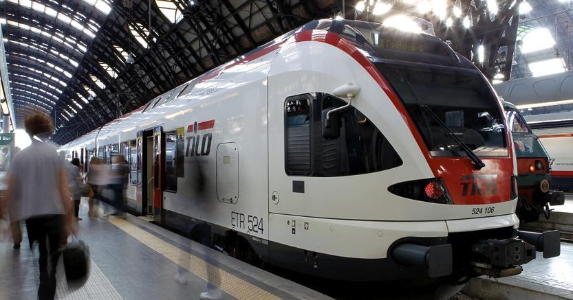 Un treno del servizio Tilo