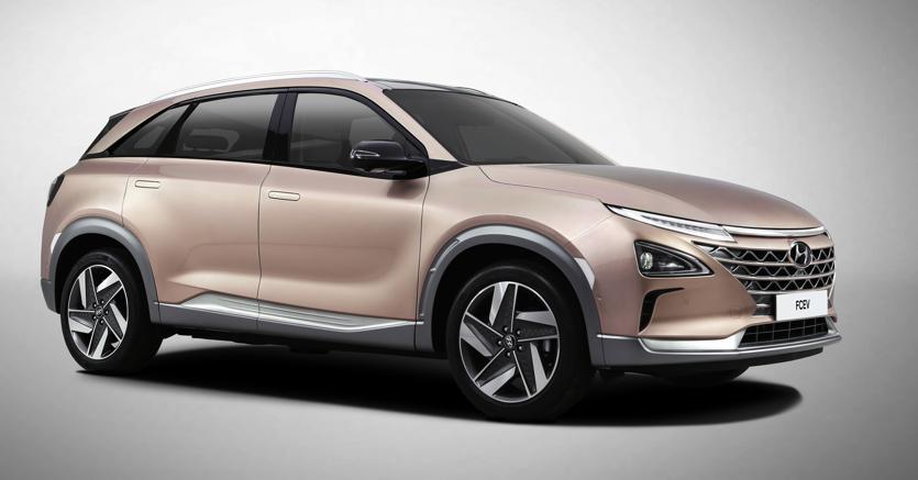 Hyundai presenta Nexo, il Suv fuel cell sempre più autonomo