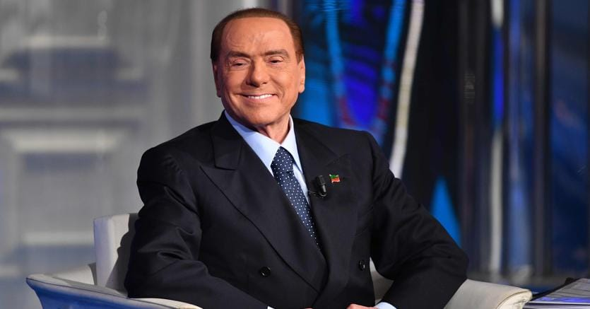 """Il leader di Forza Italia Silvio Berlusconi è intervenuto alla trasmissione televisiva """"Porta a Porta"""" (Afp)"""