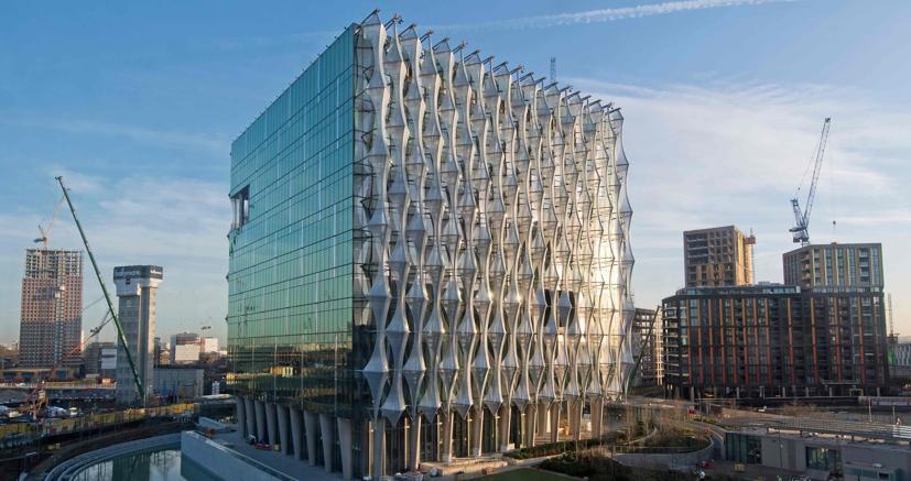 La nuova ambasciata Usa a Londra (AFP)