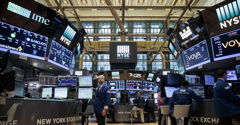 Tonfo di Wall Street: si chiude la peggior settimana dal 2015