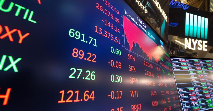 5e7159a10f Borsa, prima settimana in rosso nel 2018. Pesano il tonfo di Wall Street,  oil e realizzi