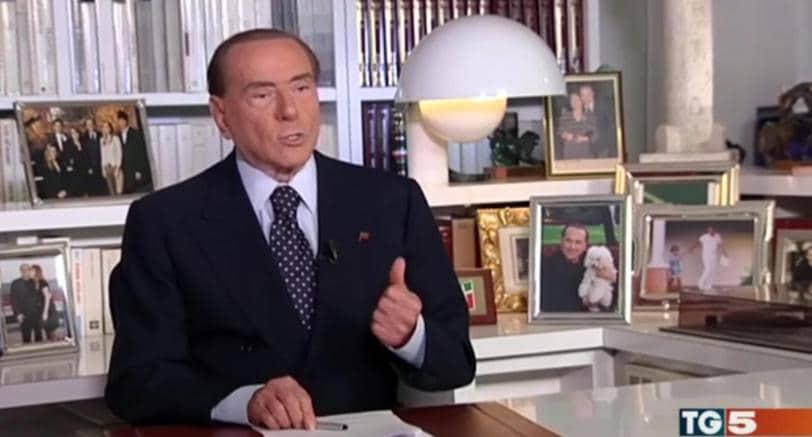 Il leader di Forza Italia Silvio Berlusconi (foto Ansa)