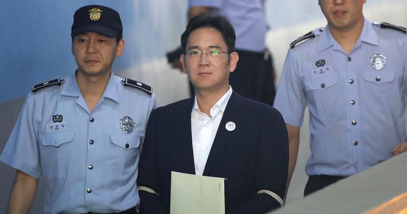 Liberato il vice presidente di Samsung