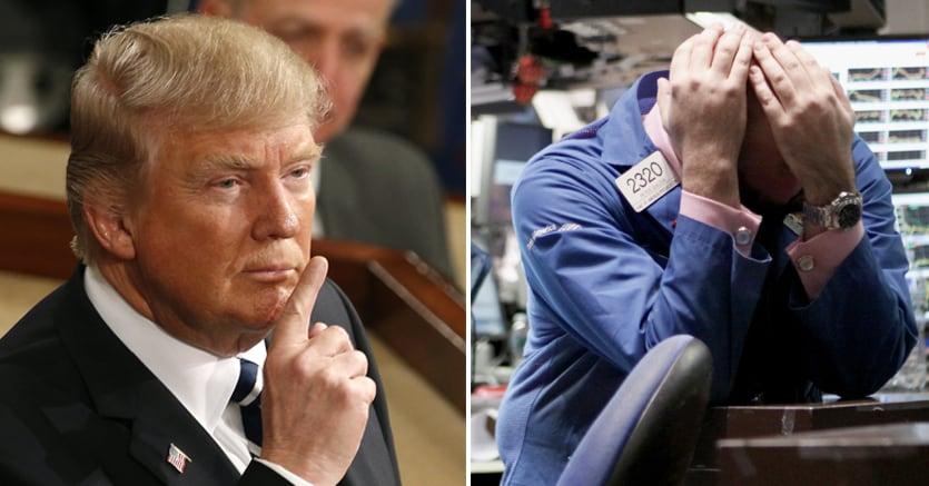 Wall Street verso la peggiore settimana borsistica dal 2008