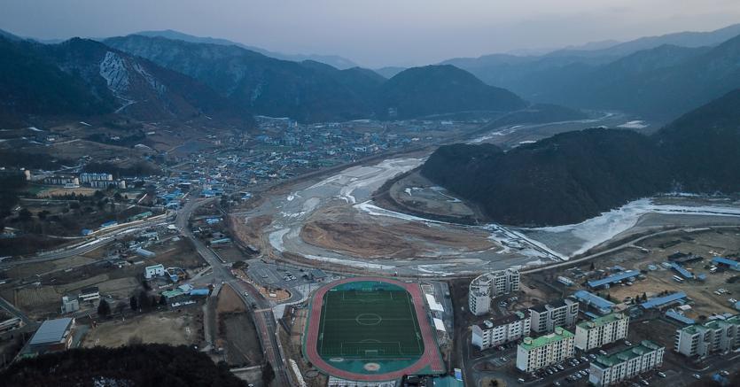 La provincia di Gangwon. (Afp)