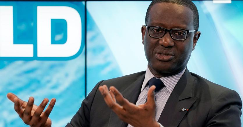 Tidjane Thiam, ceo di Crédit Suisse, all'ultimo World Economic Forum di Davos (Reuters)