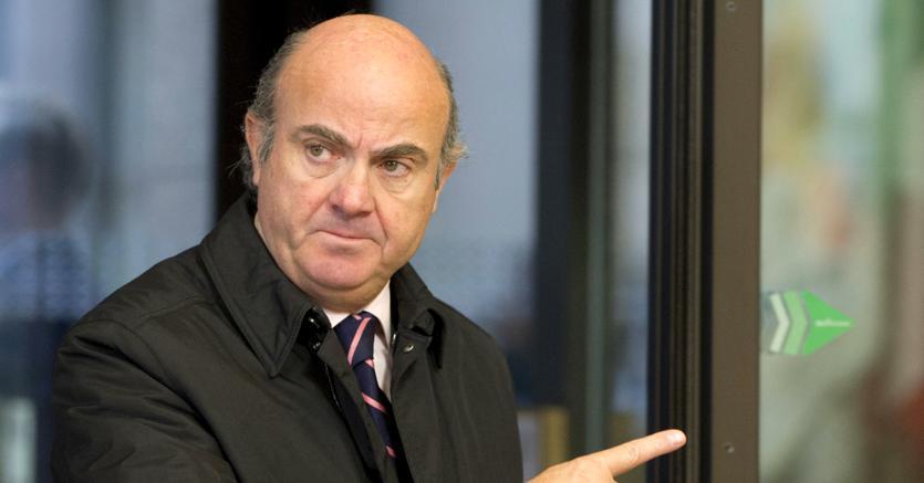 Il ministro spagnolo dell'Economia Luis de Guindos