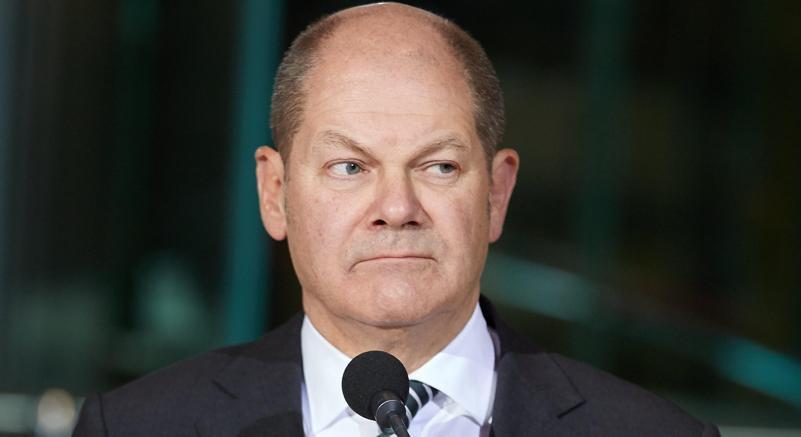 Olaf Scholz, eletto ad interim alla guida della Spd(Epa)