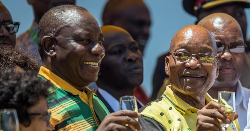 Sudafrica, Zuma all'Anc: