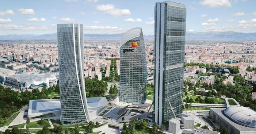 Milano, torre Libeskind a CityLife affittata a Pwc dal 2020