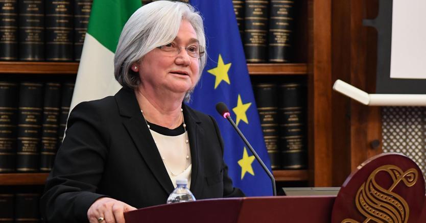 La presidente della Commissione parlamentare antimafia, Rosy Bindi (Ansa)