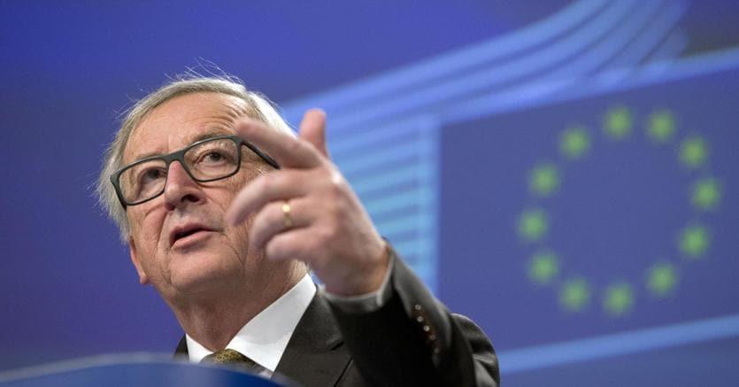 Il presidente della Commissione Ue, Jean-Claude Juncker