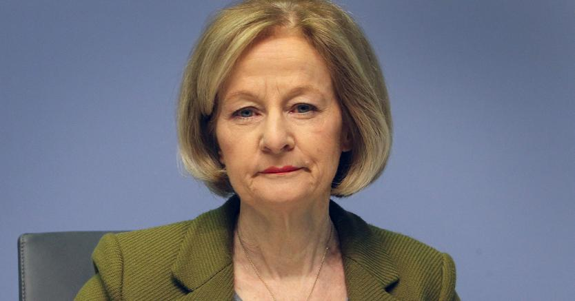 Danièle Nouy, presidente della vigilanza Bce (Afp)