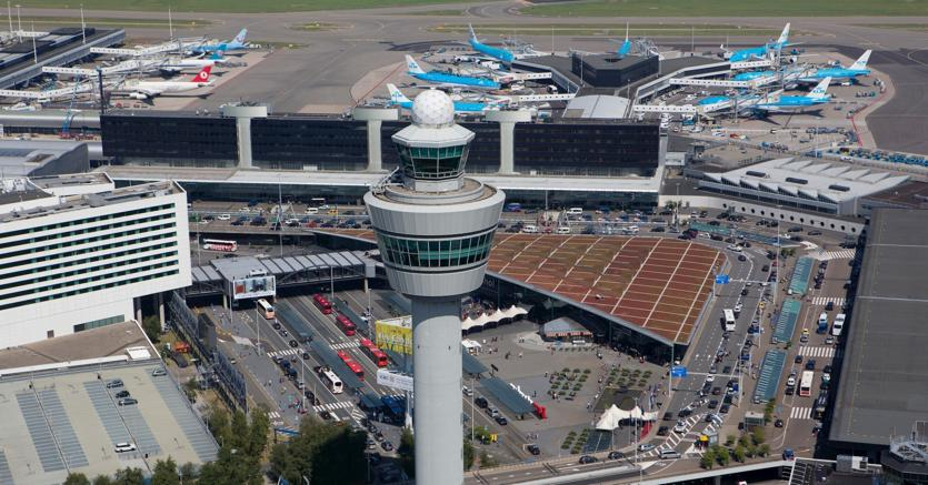 Schiphol airport, Amsterdam /Marka