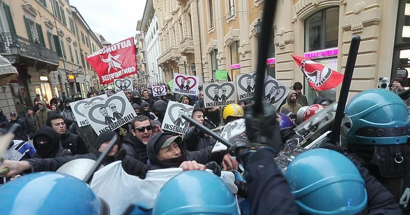 A Roma il corteo dell'Anpi: