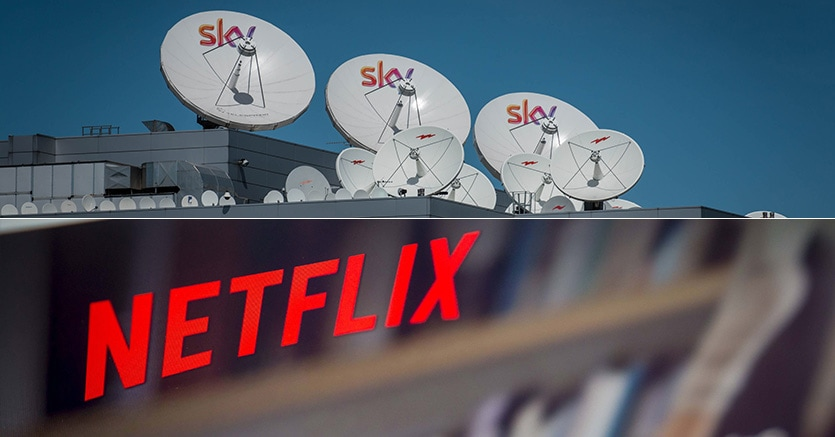 Netflix arriva su Sky: il servizio americano disponibile nel pacchetto TV