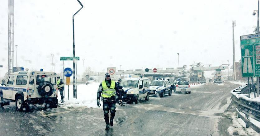 Riapertura A1 e rallentamenti sui tratti autostradali