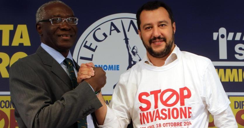 Bergamo. Il leghista Toni Iwobi primo senatore nero d'Italia