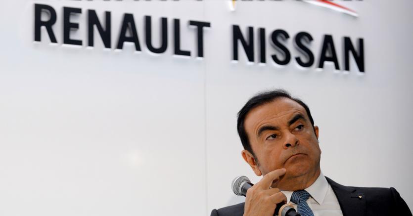 Carlos Ghosn, ceo di Renault-Nissan  (Afp)