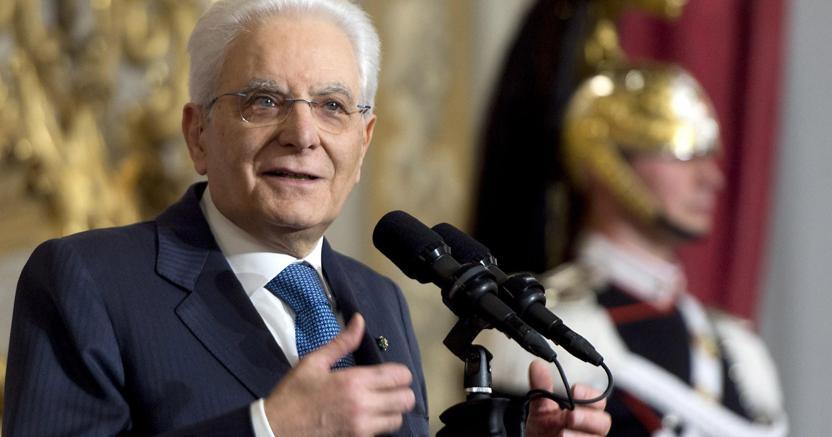 Il presidente della Repubblica Sergio Mattarella. (Ansa)