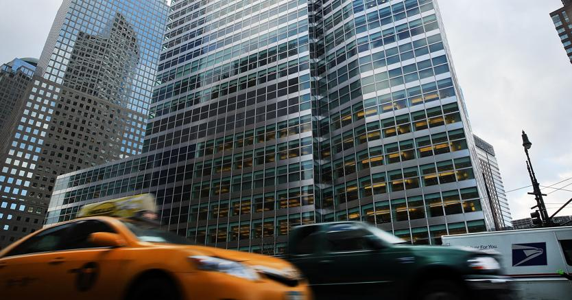 Il quartier generale di Goldman Sachs a New York (Afp)