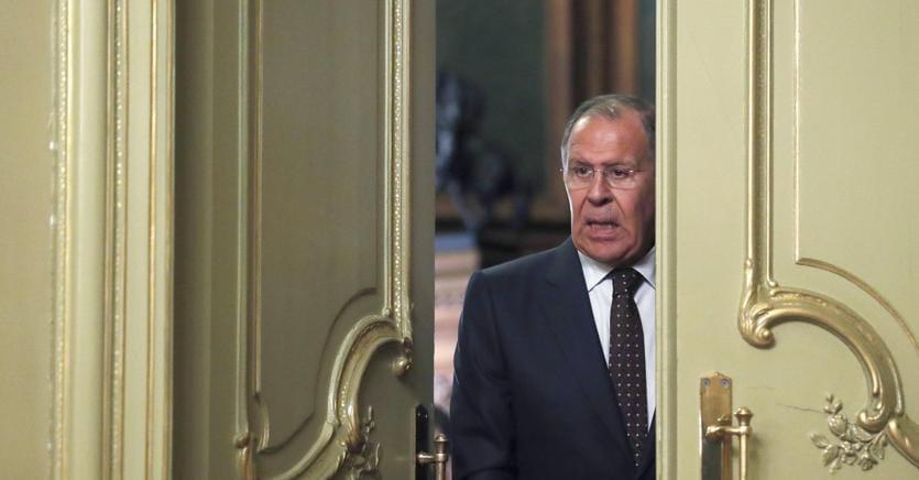 Il ministro degli Esteri russo Sergei Lavrov