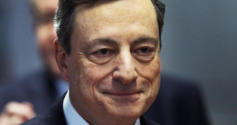 Draghi a Francoforte: